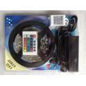 Ruban LED RGB 1M avec télécommande