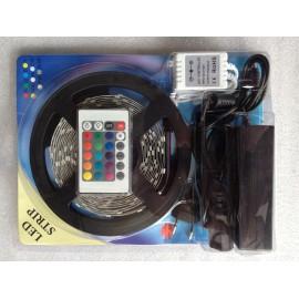 Ruban LED RGB 5M avec télécommande