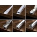 Profil aluminium 200 cm pour ruban LED