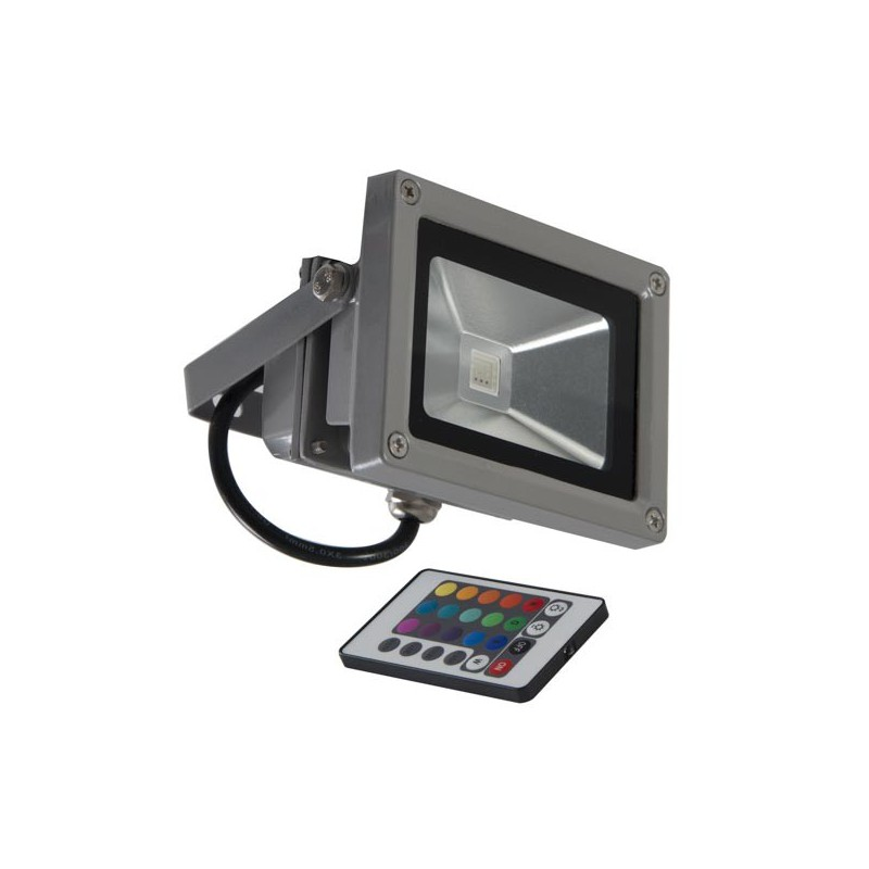 Applique exterieur telecommande for Projecteur led rgb exterieur