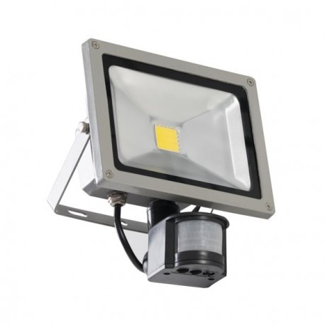 Projecteur led ext rieur de 10 watts avec d tecteur de for Par led exterieur