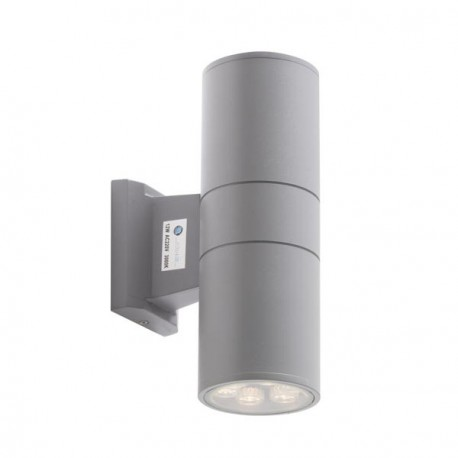 Applique murale led 2x9 watts pour l 39 ext rieur for Led murale exterieur