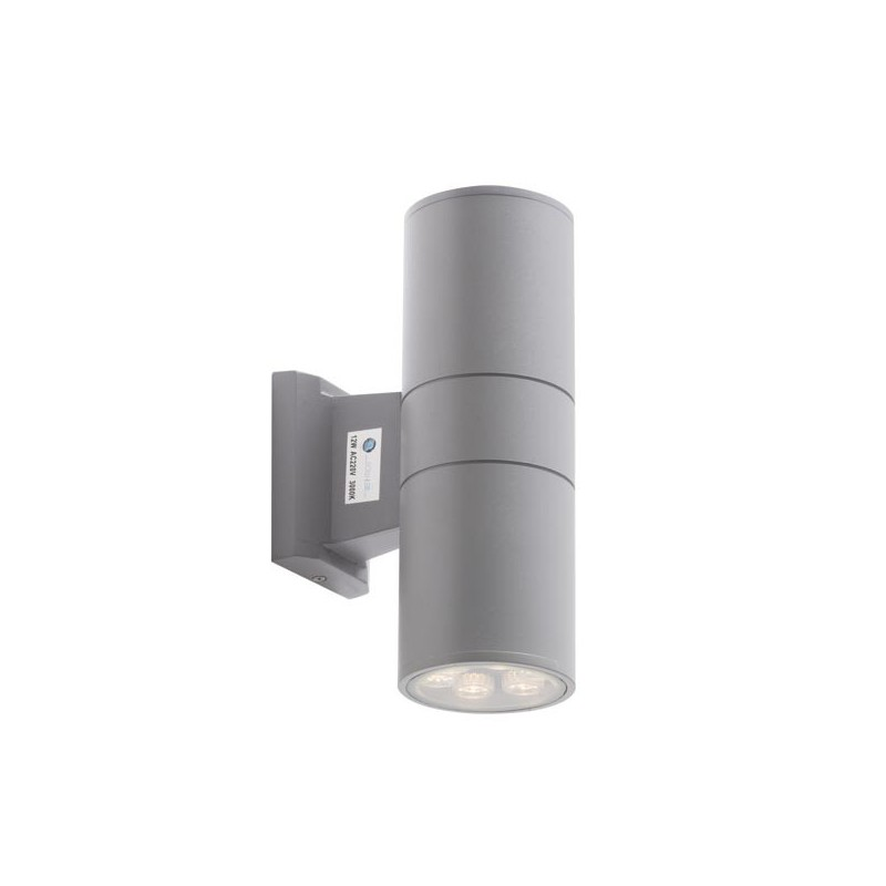 Applique murale led 2x9 watts pour l 39 ext rieur for Applique led exterieur