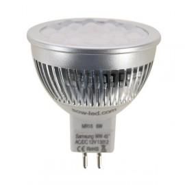 Ampoule LED SMD SAMSUNG MR16 GU5.3 6W