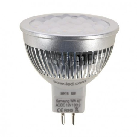 Ampoule LED SMD SAMSUNG MR16 GU5.3 6W
