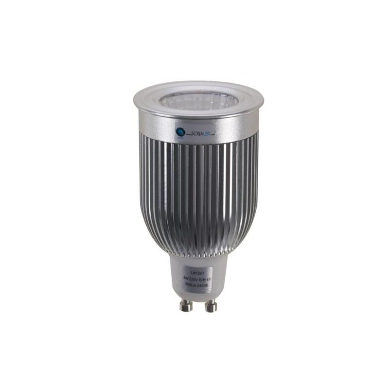 Ampoule Led Gu10 Dimmable : lampe led gu10 mr16 de 8 watts en vente sur notre e commerce ~ Nature-et-papiers.com Idées de Décoration