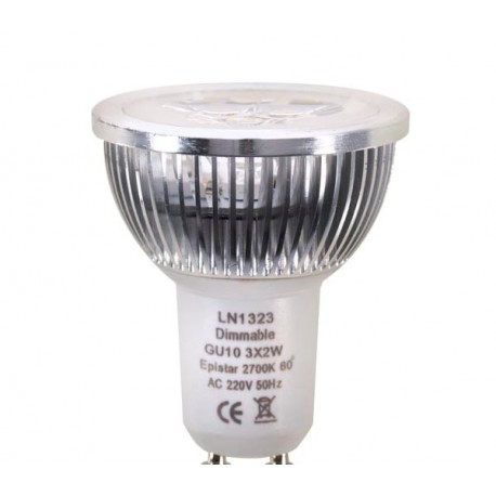 Ampoule LED GU5.3 EPI MR16 3X2W dimmable