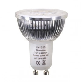 Ampoule LED EPI MR16 GU10 3x2W dimmable
